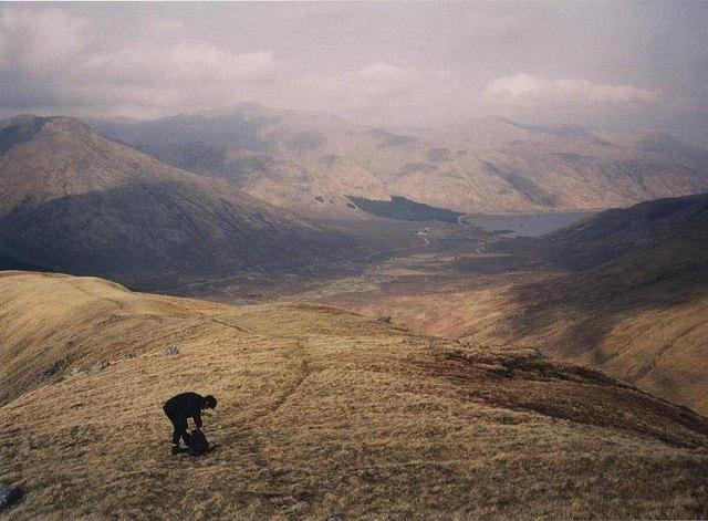 Descending Druim nan Eirecheanach