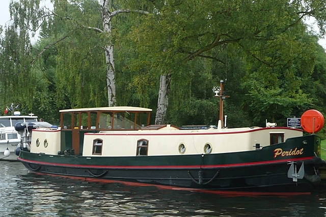 dutch barge at windsor graham horn geograph britain. Black Bedroom Furniture Sets. Home Design Ideas