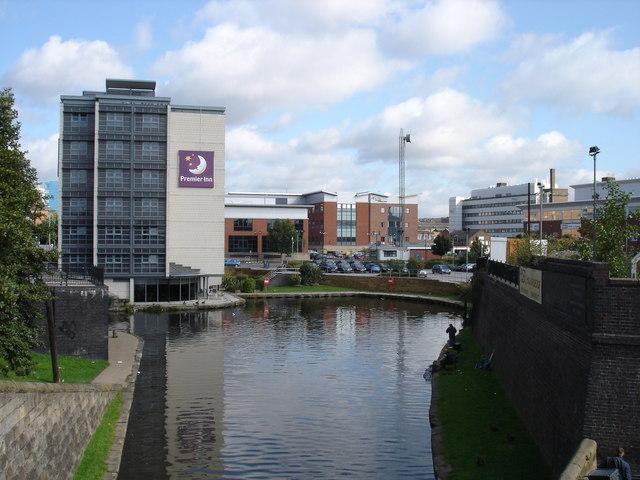 Turning Basin on the Nottingham Canal