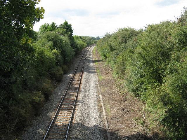 Ashperton station site