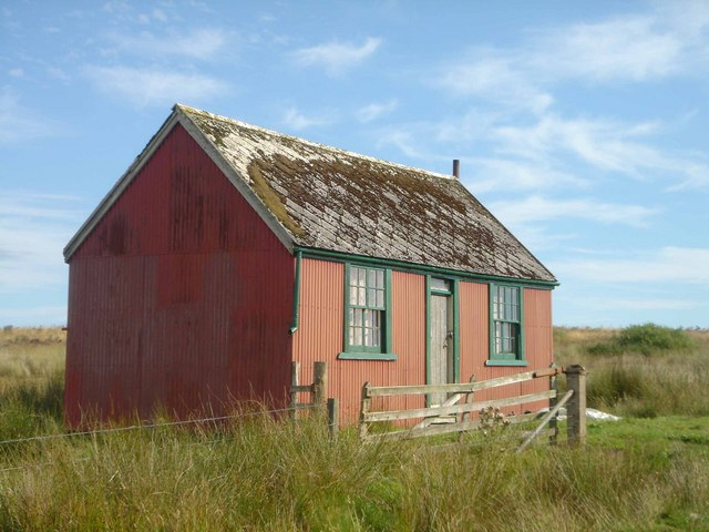 Tin House near the Rowens