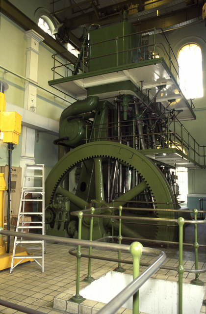 Steam engine, Cottingham Pumping Station