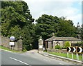 SE0838 : The western entrance to St Ives Estate, Keighley Road, Harden by Humphrey Bolton