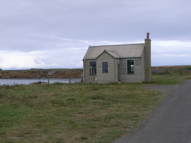 Wooden house at Birsay