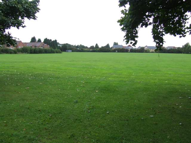 Herts & Essex High School playing fields. Threatened with housing development. There are plans to build houses on this site.