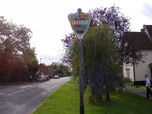 Laxfield Village Sign