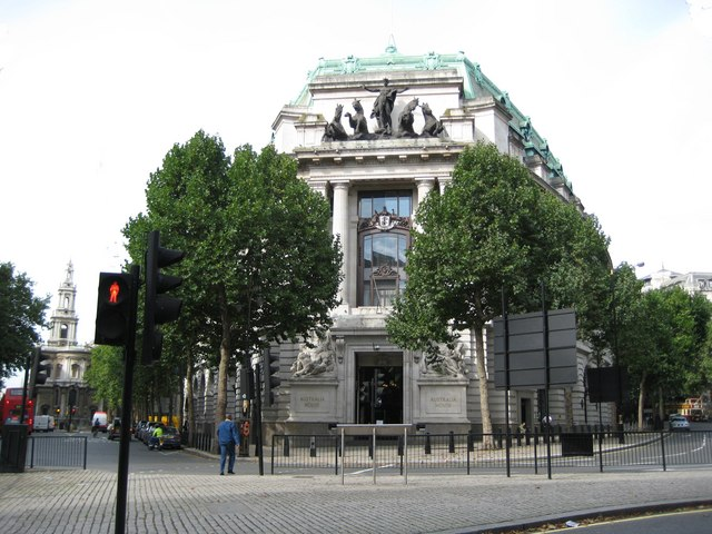 Aldwych: Australia House, The Strand, WC2