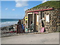 SW6949 : Lifeguard station at Chapel Porth by Rod Allday