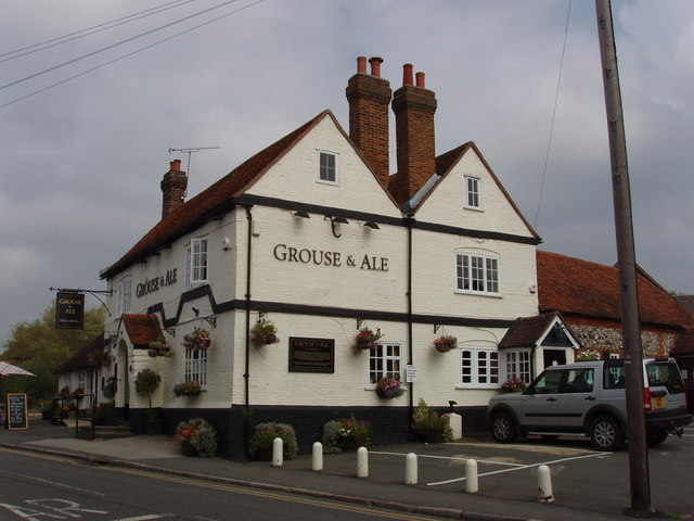 Grouse and Ale pub, Lane End