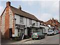 SU8091 : Butchers' shop in Lane End by David Hawgood