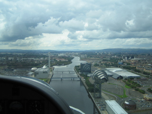 Arriving in Central Glasgow by Seaplane