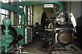SD8332 : Steam engine, Oak Mount Mill, Burnley. by Chris Allen