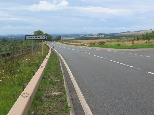 Road to Overhailes off the A199
