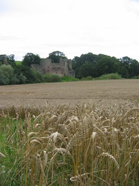 September at Hailes Castle