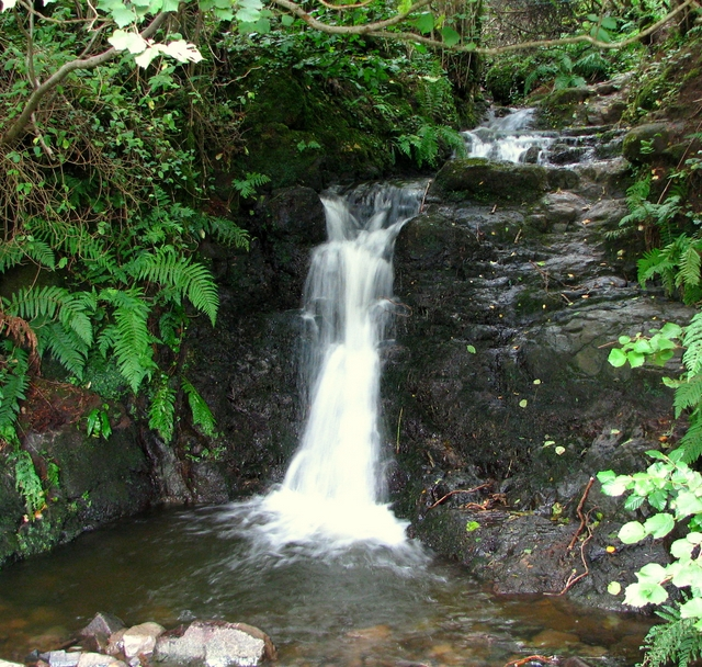 Small Waterfall Near Cave Hill Rossographer Geograph Britain And Ireland