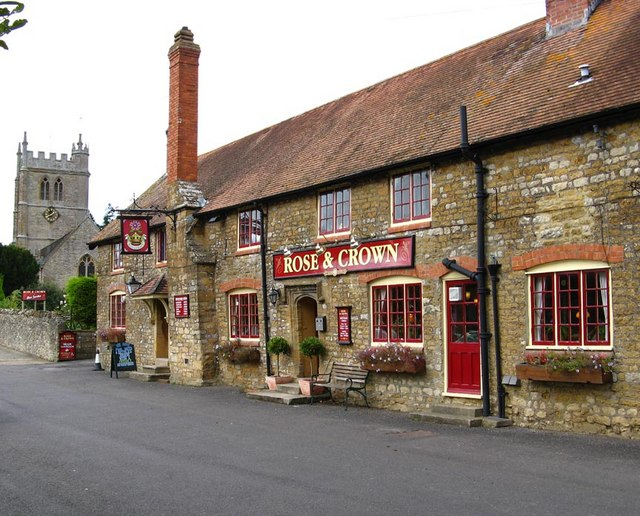 Image result for rose and crown inn bradford abbas