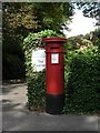 SZ1091 : Bournemouth: postbox № BH1 40, Knyveton Road by Chris Downer