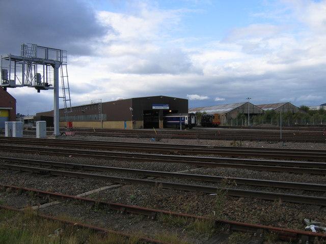 Inverness Scotrail Depot Welsh S Bridge 169 A M Jervis