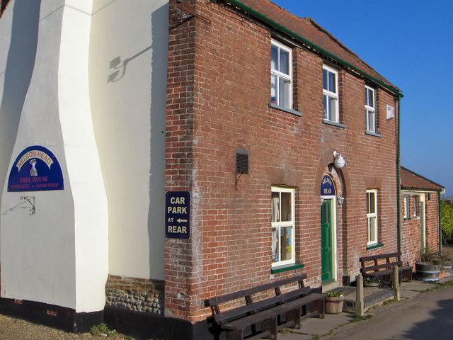 The Nelson Head pub near Horsey Staithe