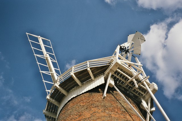 Horsey windpump detail