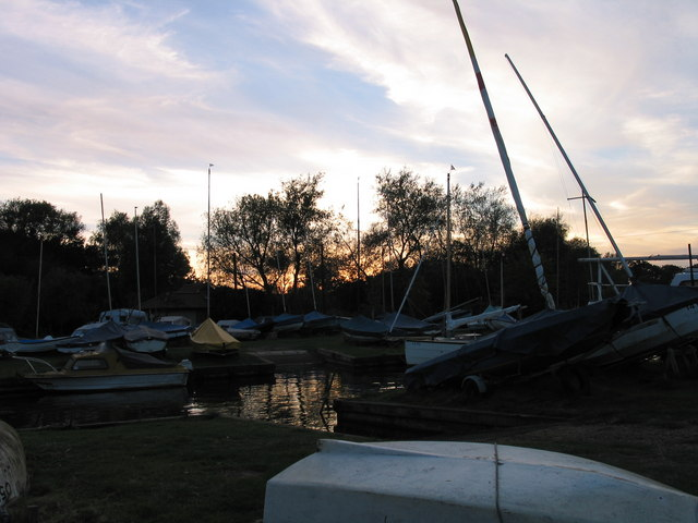 Evening at Hickling Staithe