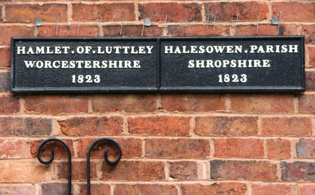 The Old Worcestershire/Shropshire Border - Lutley