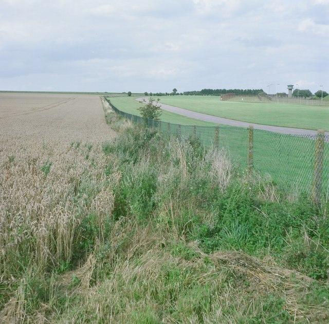 RAF Marham boundary fence