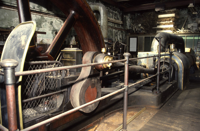 Steam engine, Holmes Mill, Clitheroe