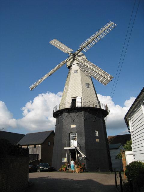 Cranbrook Union Windmill, Russells Yard, Cranbrook, Kent