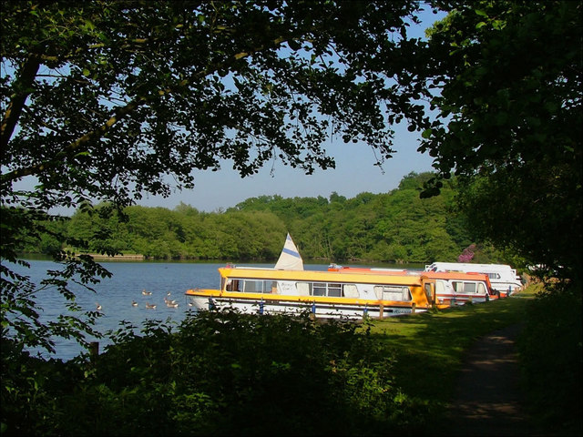 Public moorings at Salhouse Broad