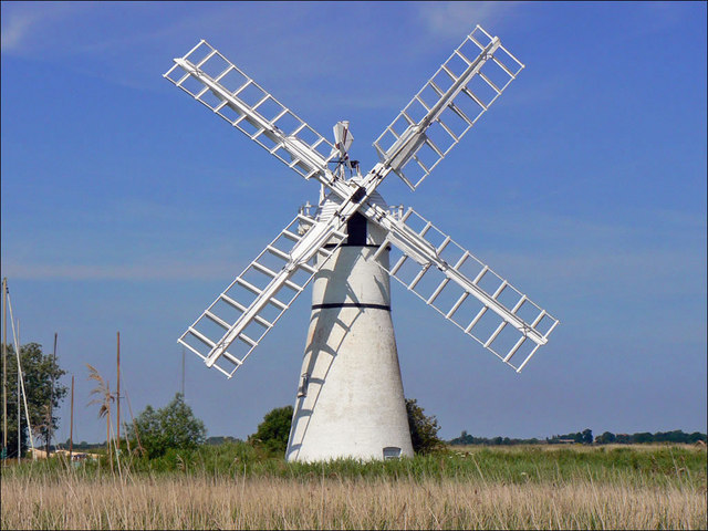 Thurne Mill, River Bure