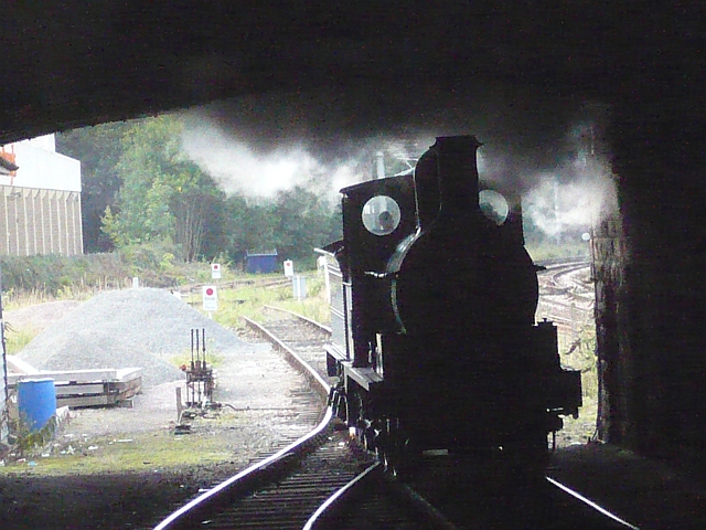 Steam at Keighley Station