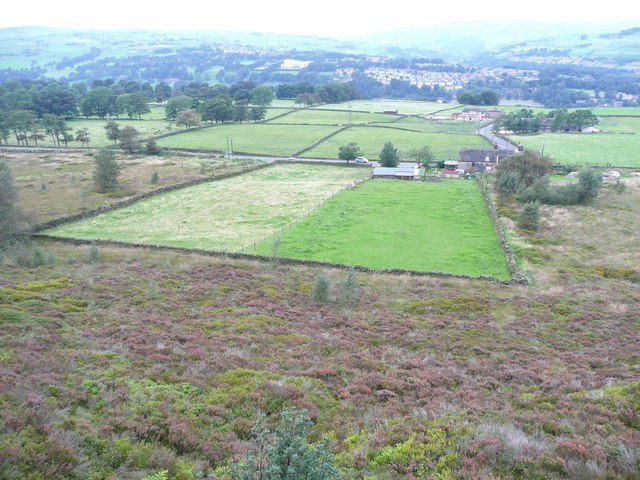 Intake from the moor, Norland Moor, Norland