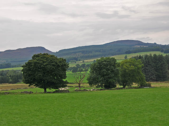 Fields near Mill of Drummond