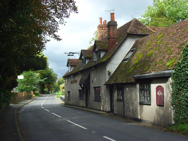 The A4155 And Ye Olde Dog And Badger 169 Andrew Smith Cc