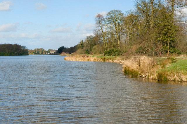 Lake at Trentham Gardens