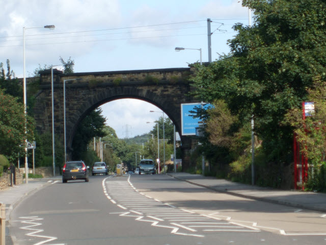 Railway bridge over Otley Road