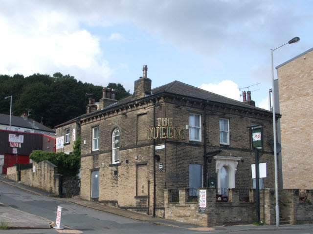 The Queens Pub, now closed