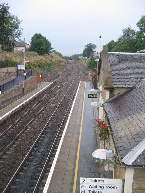 Polmont railway station