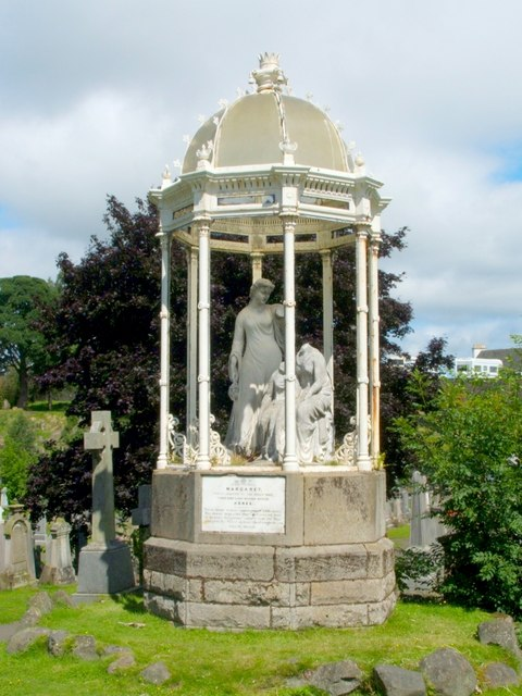 Monument to Margaret Wilson (a Wigtown Martyr)
