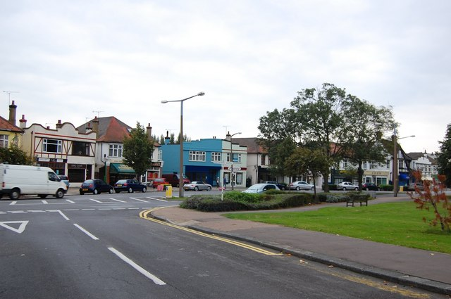 Shops on The Ridgeway, Chalkwell