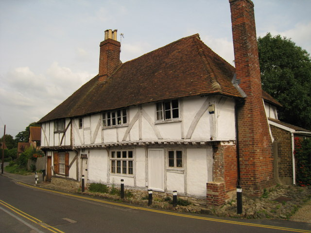 Wealden Hall House on Mill Street, East Malling, Kent