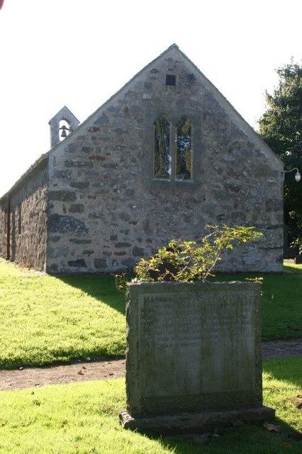 Inventor's headstone