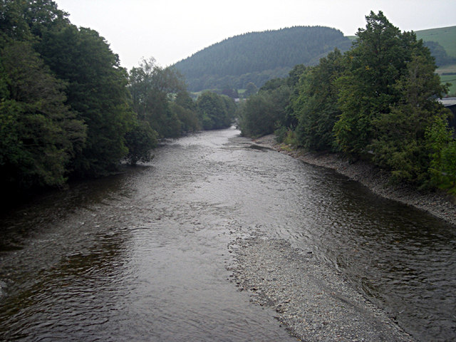 River Severn at Llanidloes