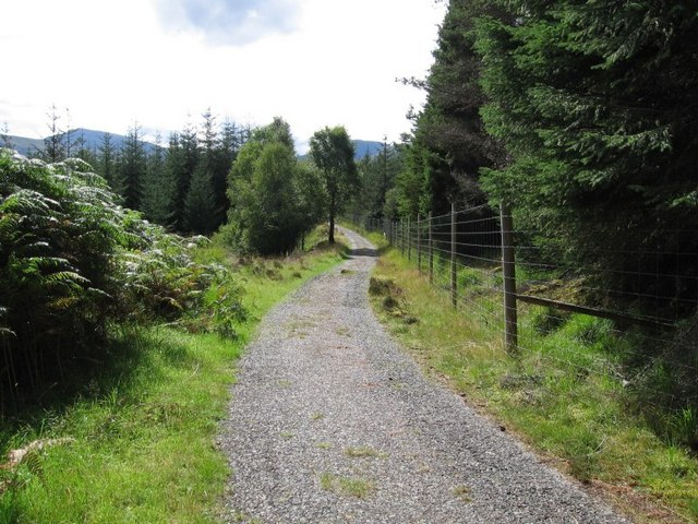 """The """"Road to the Isles"""" - Tomdoun Sporting Lodge Hotel to Loch Loyne"""