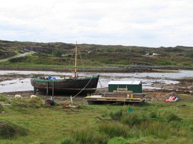 Boat near Culduie