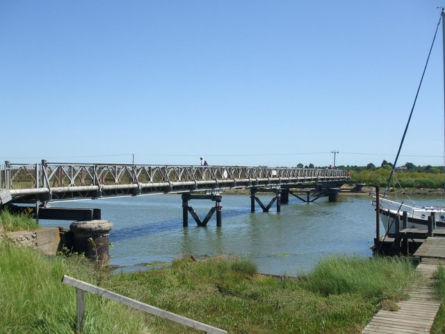 Southwold to Walberswick Bridge