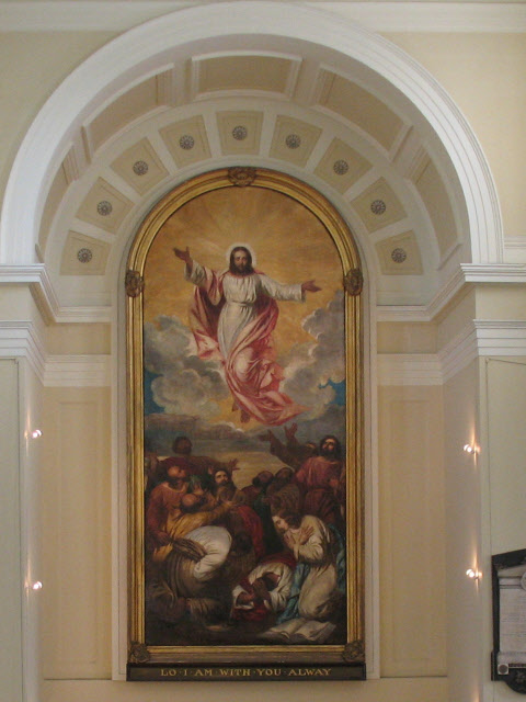 The Ascension painting, St James Bermondsey