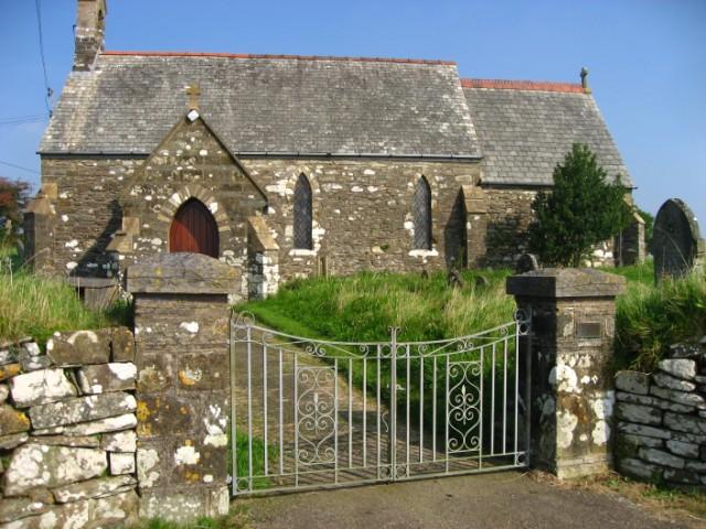 St Colman's Church at Llangolman
