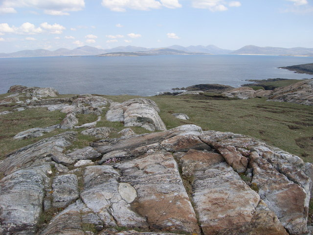 South Harris and Taransay from Toe Head